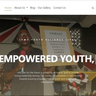 Lamu Youth Alliance Website